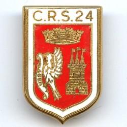 CRS 24  Bon-Encontre , émail