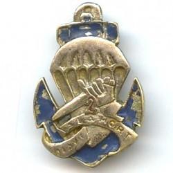 2° BCCP, bleu fonçé, métal...