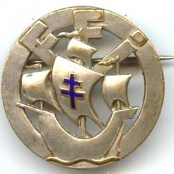 10° DI, FFI, argenté, croix...