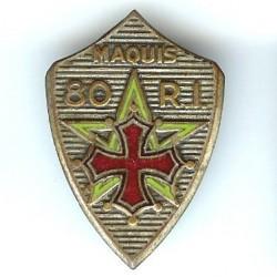 80° RI / Maquis, anneaux,...