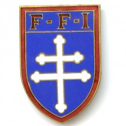 FFI, croix treflée, matriculé