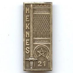 21° promotion Meknès