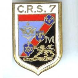 CRS 7  Deuil-la-Barre , émail