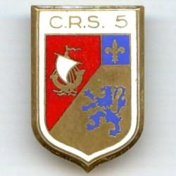 CRS 5  Massy , manque un...