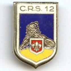 CRS 12  Lambersart , émail,...