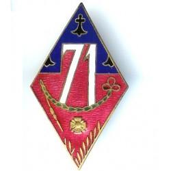 71° Rgt d' Infanterie, losange