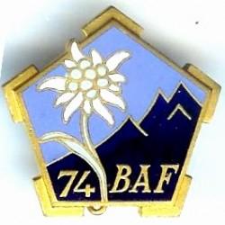74° Bataillon Alpin de...