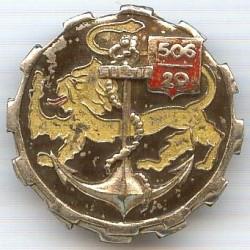 506° / 29° GT, métal chromé...