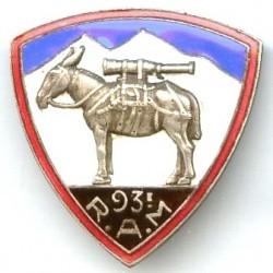 93° Rgt d' Artillerie de...