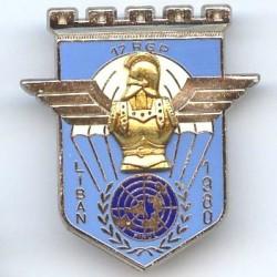 17° RGP / 2° Cie Liban 1980