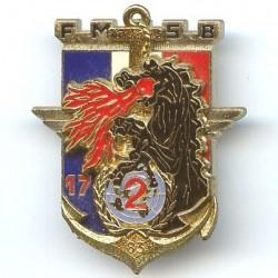 17° RGP / 2° Cie FMSB 1983,...