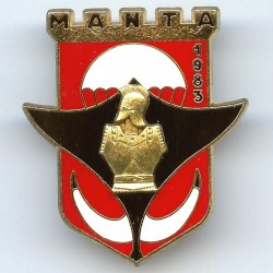 17° RGP / 3° Cie Manta 1983